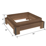 Orchard Bin Riser | Produce Display | The Marco Company - OBBR-001