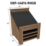 Orchard Bins | Produce Display | The Marco Company- OBP-34876 RMSB