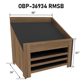 Orchard Bins | Produce Display | The Marco Company- OBP-36934 RMSB