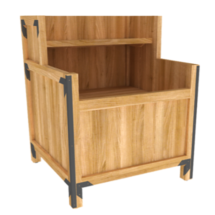 Orchard Bins | Produce Display | The Marco Company- OBP-37402 ROSB