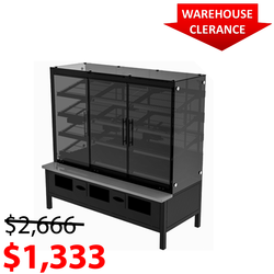 Packaged Bakery Display - Bakery Display Shelving-BAK-1367