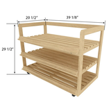 Bakery Display Shelving and Cases - BAK-585 O KR