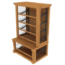Packaged Bakery Display - Bakery Display-BAK-631 Shelving-