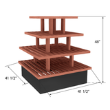Bakery Display Shelving and Cases - BAK-622 O