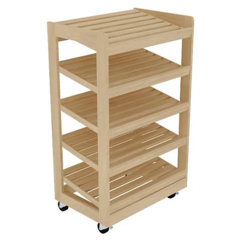 Bakery Display Shelving - BAK-1013 OAK
