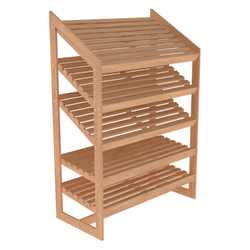Bakery Display Shelving - BAK-1044 OAK