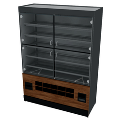 Packaged Bakery Display - Bakery Display Shelving- BAK-1285 OCM