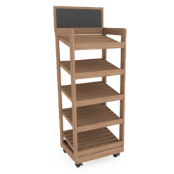 Bakery Display Shelving - BAK-457 KR
