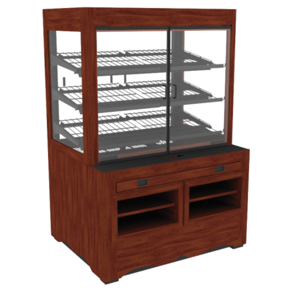 Packaged Bakery Display - Bakery Display Shelving-BAK-630 O GE