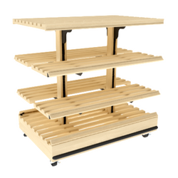 Bakery Display Shelving - BAK-660 OAK