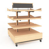 Bakery Display Shelving and Cases - BAK-677 O KR