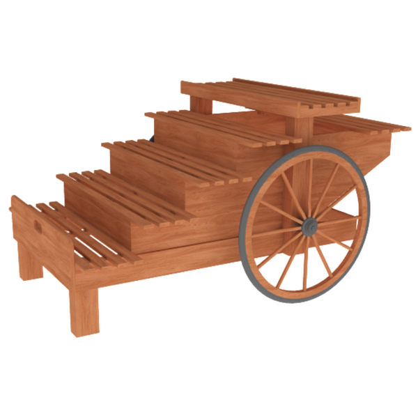 Display Carts | Produce & Bakery Display | The Marco Company-CART-04