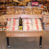 bulk display | Bakery Display | The Marco Company-ET15 4848DBL O