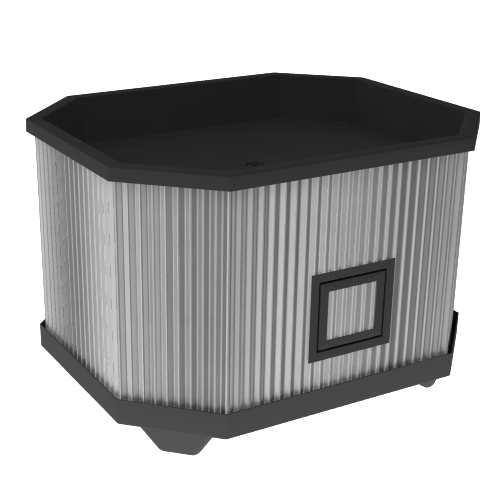 Produce Display Bin<br>ICE-BIN 03 GAL