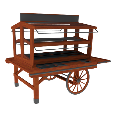 Display Cart<br>M-CART-001