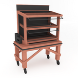Bakery Display Shelving and Cases - M-CART-004
