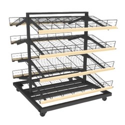 Bakery Display Shelving and Cases - MET-435 C O