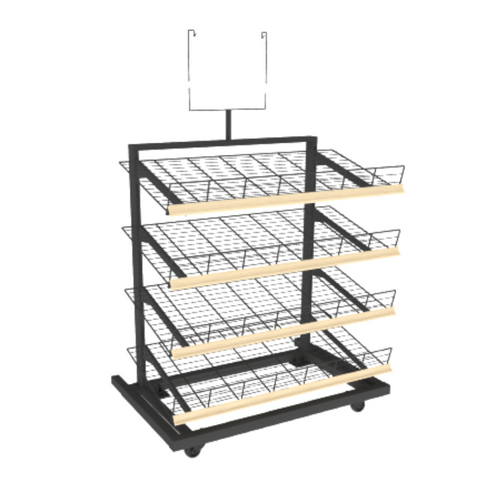 Bakery Display Shelving - MET-435 EC