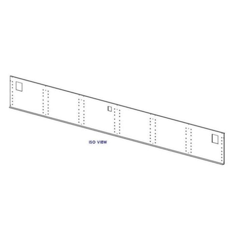 "Tyler NFJ & FFJ 12' X 15-1/4"" OEM REAR DUCT Panel (Interior)"
