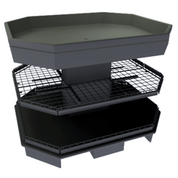 Produce Display Bin | Orchard Bin | The Marco Company-OCT-CHIP