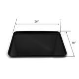 Meat Display Trays | Plastic Display Trays | The Marco Company-SW00043BK