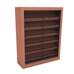 Wine Upright Display - 0824-B WINE RACK 001