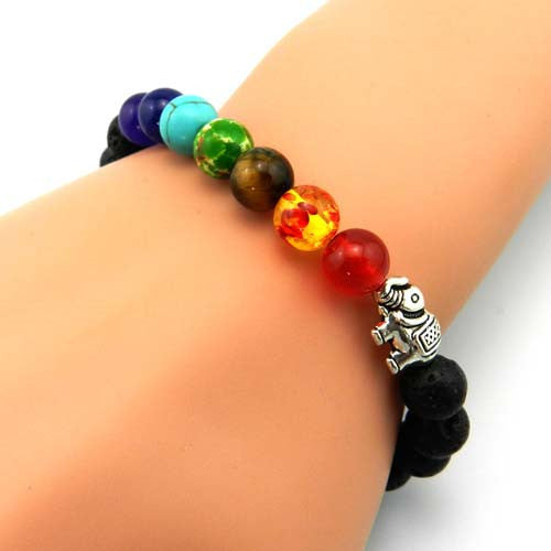 bracelet colorful products rescue elephants elephant the beads