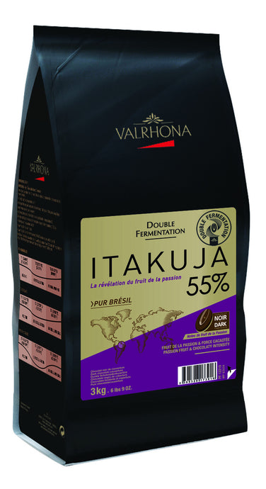 Valrhona Itakuja 55% Dark Chocolate (300g)