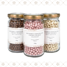 Gourmet Chocolate Crispy Pearls Trio Set (Neapolitan)