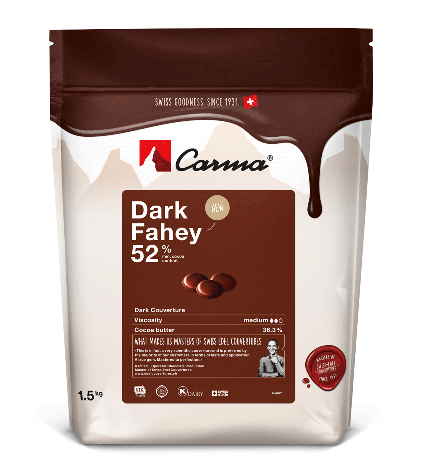 Carma® Dark Fahey 52% Dark Chocolate (1.5kg)