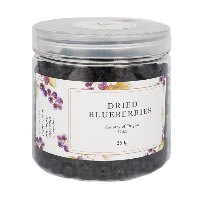 Dried Blueberries 250g