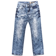 Tokyo Five Boy's Straight Leg Destructed Pocket Fashion Denim