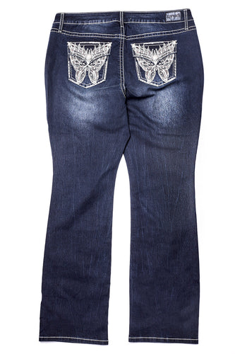 Tremont Wash Embellished Jean