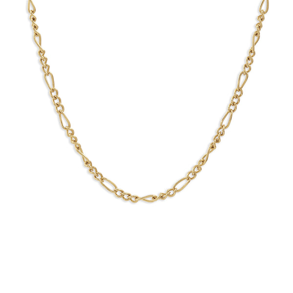 Golden chain choker
