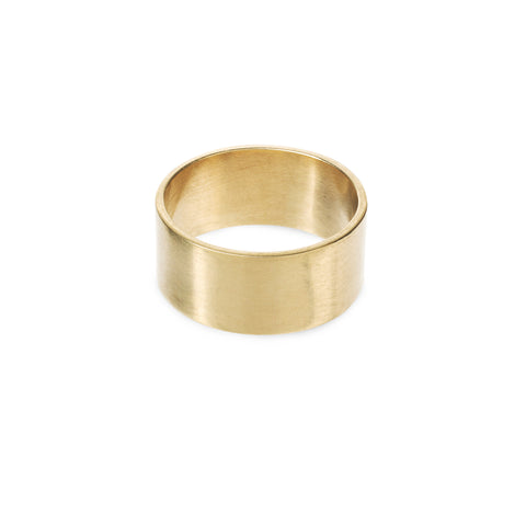 Cigar Gold Ring