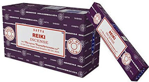 Satya Nag Champa Reiki Incense Sticks, 12 Count: Home & Kitchen - The Metaphysical Mall