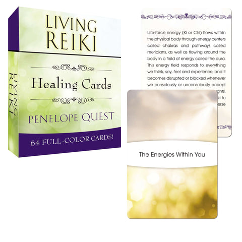 Living Reiki Healing Cards (Tarcher Inspiration Cards): Penelope Quest - The Metaphysical Mall