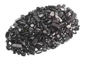 Black Tourmaline Chips - The Metaphysical Mall
