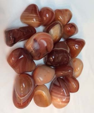 Red Agate Tumbled Stone