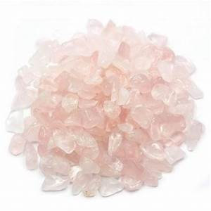 Rose Quartz Chips - The Metaphysical Mall