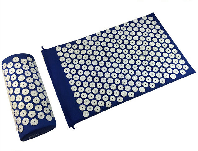 Acupressure Shakti Massage Spike Yoga Mat with Pillow - Capital Elements 2 Wellness and Fitness