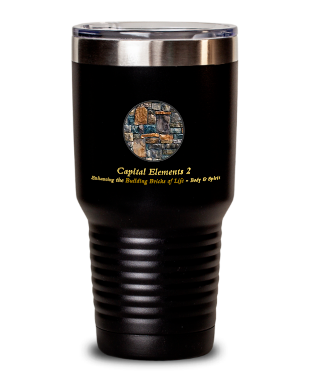Capital Elements 2 Promo Tumbler - Capital Elements 2 Wellness and Fitness