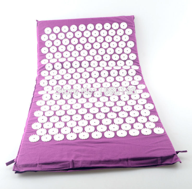 Back & Body Acupressure Yoga Massage & Relaxation Mat - Capital Elements 2 Wellness and Fitness