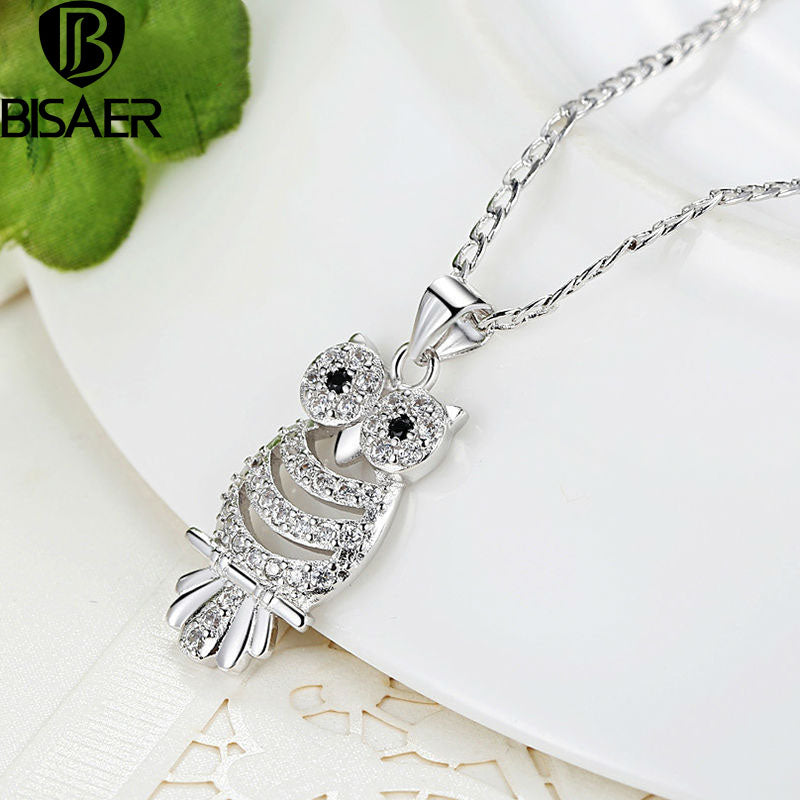 Owl Pendant Necklace Retro - Capital Elements 2 Wellness and Fitness