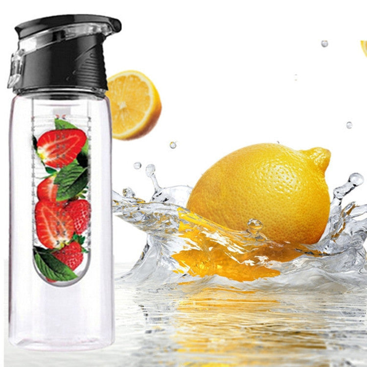 Fruit Infusing Water Bottle with Measurement Notches - Capital Elements 2 Wellness and Fitness