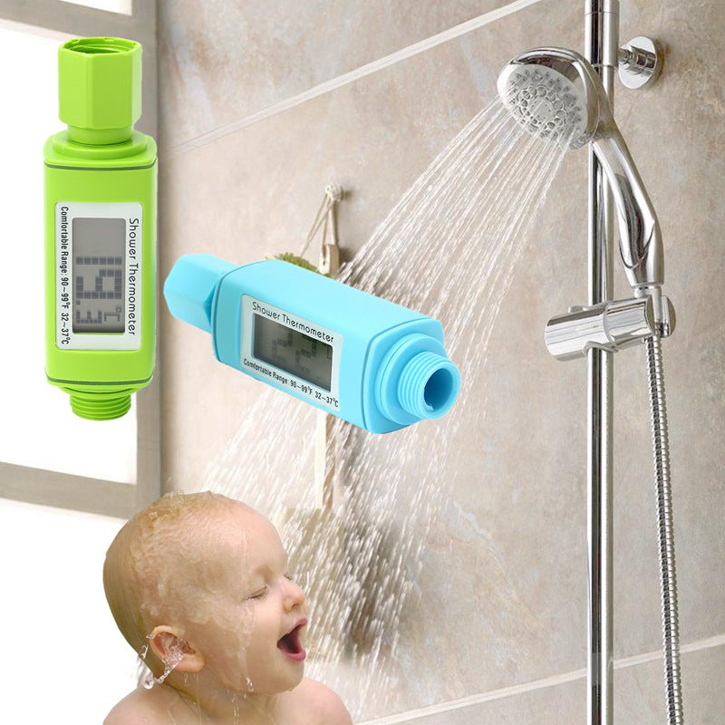 Waterproof Digital Shower Head Thermometer - Capital Elements 2 Wellness and Fitness