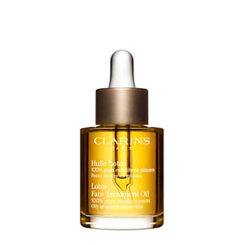 Clarins Face Treatment Lotus Oil 1 oz / 30 ml