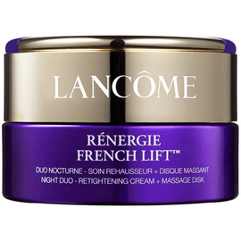Lancome Renergie French Lift: Anti-Aging Night Cream + Massage disk 50ml / 1.7oz.