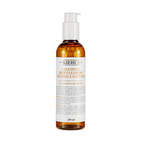 Kiehl's Calendula Deep Cleansing Foaming Face Wash 230ml / 7.8oz
