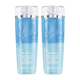 Lancome Bi-Facil Non-Oily Instant Cleanser Sensitive Eyes Duo 2 x 4.2 oz